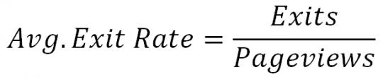 công thức tính Bounce-rate