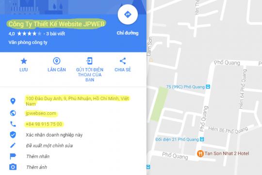 google map la gi