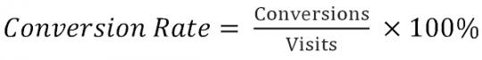 công thức tính tỉ lệ chuyển đổi