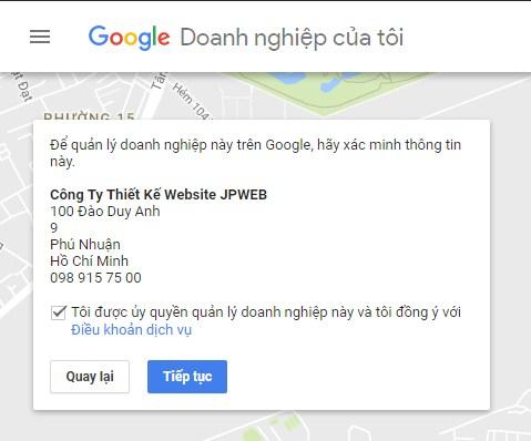 bí quyết seo google map