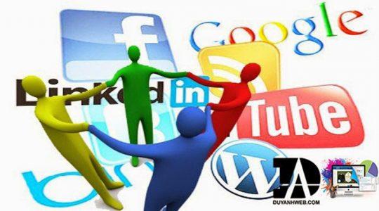 mạng xã hội trong SEO