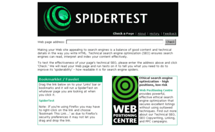 spidertest. tool