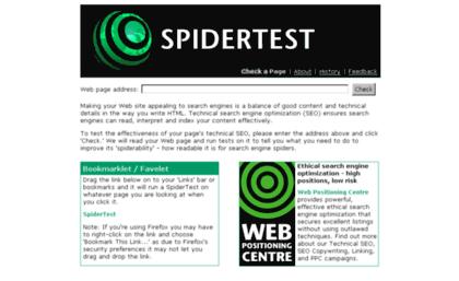 spidertest. tool